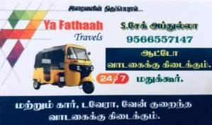 YA FATAAH TRAVELS - AUTO