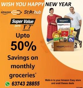 Star Hub - Amazon Easy: New year Offers