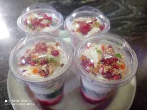 Saim Cafe - Falooda Rs 60/ per pc