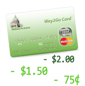 Oklahoma's Way2Go Card