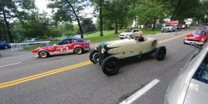 Les in his 1933 Plymouth