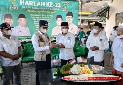 Bantu Pemerintah Capai Target 70 Persen Hard Imunity, DPC PKB Bangkalan Gelar Vaksinasi Dalam Harlah PKB Ke 23