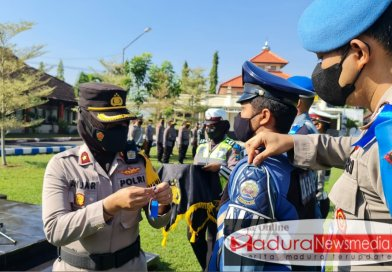 Polres Bangkalan Gelar Operasi Patuh Semeru 2021 Selama 14 Hari Sasarannya Pelanggar Prokes dan Tertib Berlalu Lintas