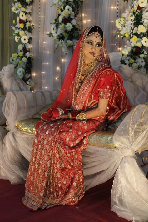 A beautiful Bangladeshi bride.