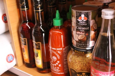Sriracha, French mustard, and other global foods in Global Gourmet.