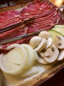 Beef for grilling or shabu shabu.