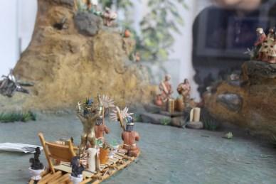 A display at the Guatavita museum.