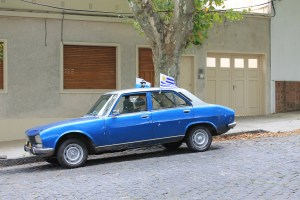 Colonia has classic cars for those who like to spot.