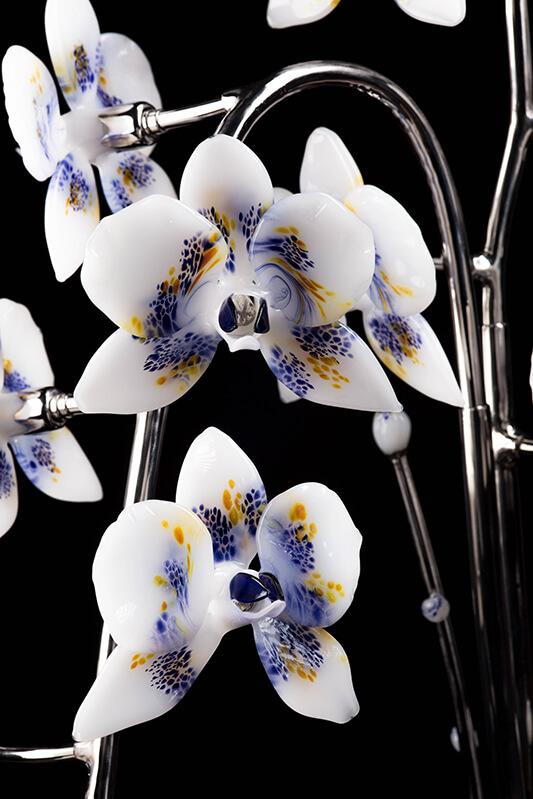 Orchidée de verre - Mad Verrerie D'Art   Frédéric Demoisson