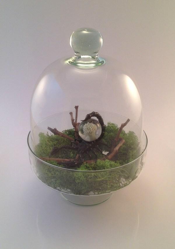 Scorpion de verre - Mad Verrerie D'Art | Frédéric Demoisson