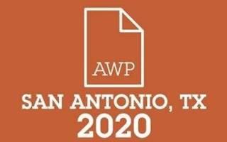 AWP 2020 Logo