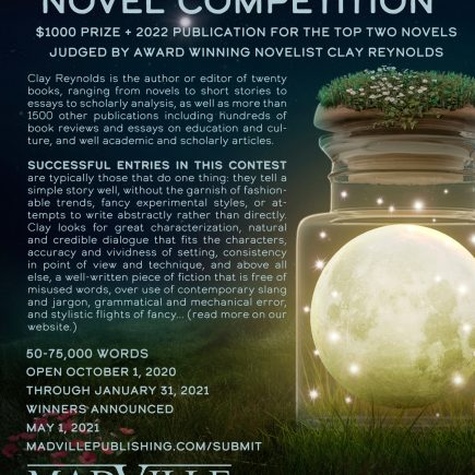 Madville's Blue Moon Novel Competition