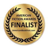 American Fiction Awards gold seal medallion for FINALIST in the 2021 competition