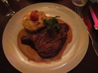 My steak in foie gras sauce