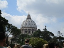 The dome of St. Peter's Basilica.