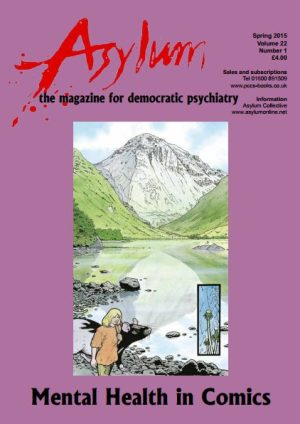 cover of asylum comics issue