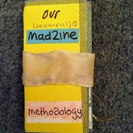 Picture of a zine about our methodology
