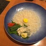 【山口県周南市】美味い!!鮮味食彩 宇佐川水産で、ちょっと贅沢【夜ランチとフグ刺し】