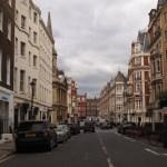 ロンドンの街並み