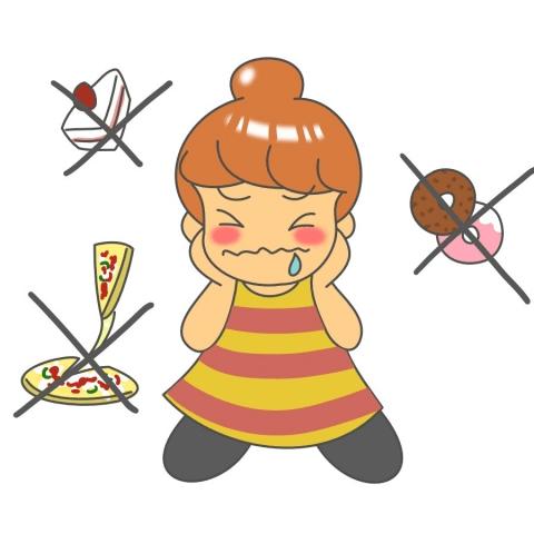 食事制限ダイエットの危険性