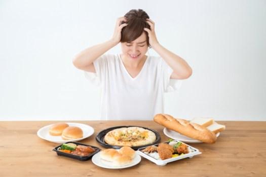 太っている人の食事傾向