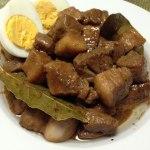 アドボミックスでフィリピン料理の豚肉のアドボを作ってみた