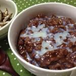 【チャンポラード】ご飯にチョコっておいしいの!? もち米で作るチョコレートのお粥の作り方