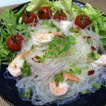 フィリピンママがタイの春雨サラダ「ヤムウンセン」を作りました