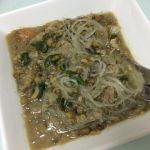 【ギニサン・モンゴ】我が家の自家製マルンガイ入りの「もやし豆の炒め物」