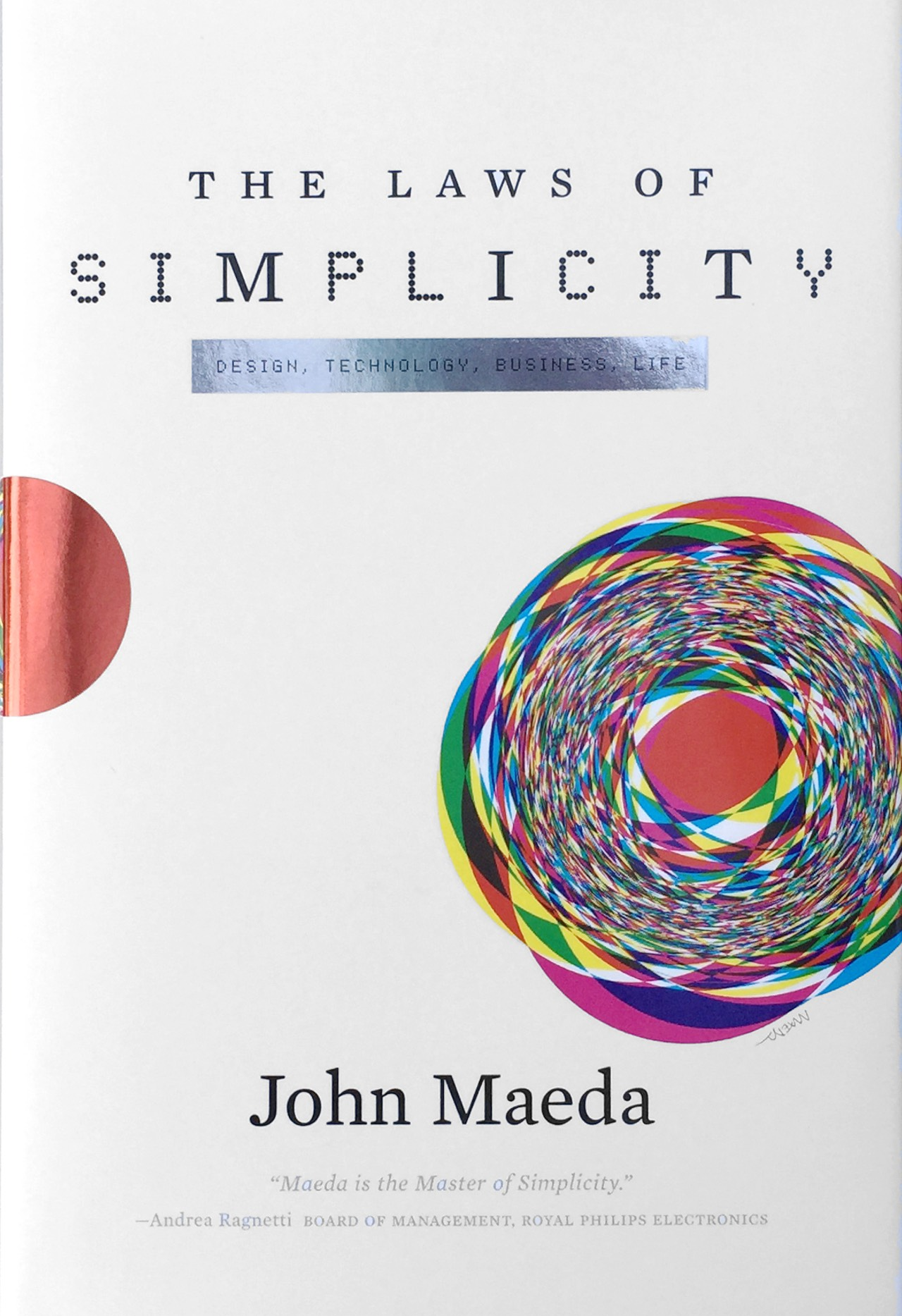 Book cover image for Laws of Simplicity available as an audio book.