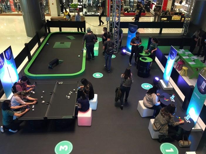robô drone shopping cidade sp