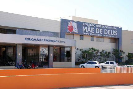 Colégio atual Av. Raulina Fonseca Paschoal
