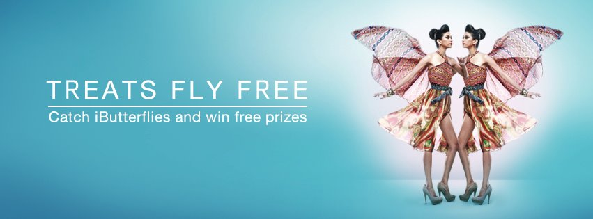 SM Supermalls Successfully Launched and Released Hundreds of iButterflies at SM Megamall (1/2)