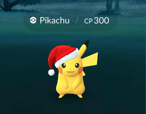 pokemon go evento navidad