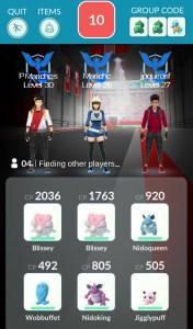 pokemon go multijugador gym raid battle