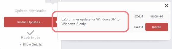 EZdrummer install 20