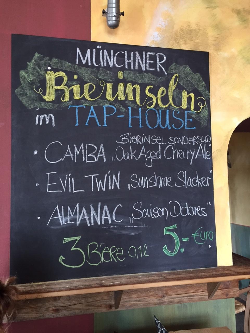 Erlebnisbericht von den Münchner Bierinseln | Männerabend