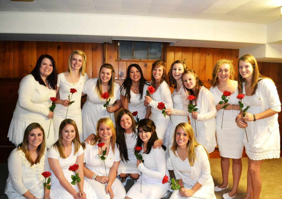 My Pledge class after initiation.