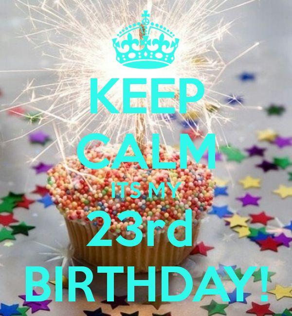 Celebrating Level 23 of Life 1