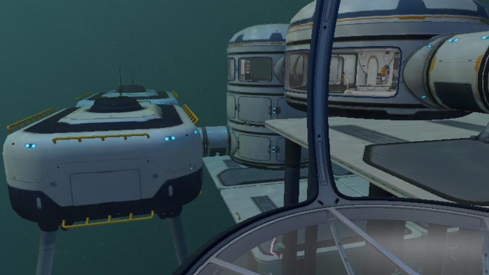 Subnautica: My Base by the Precursor Gun 9