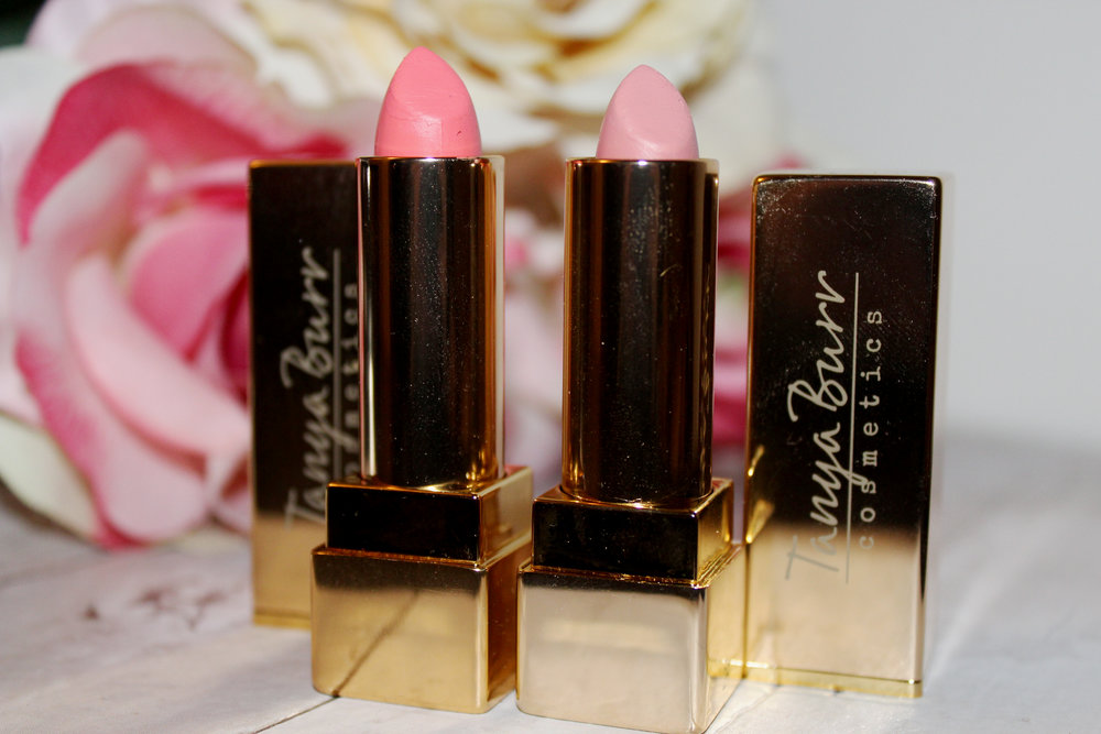 Tanya Burr Lipstick Review - Birthday Cake & Happily Ever After 4