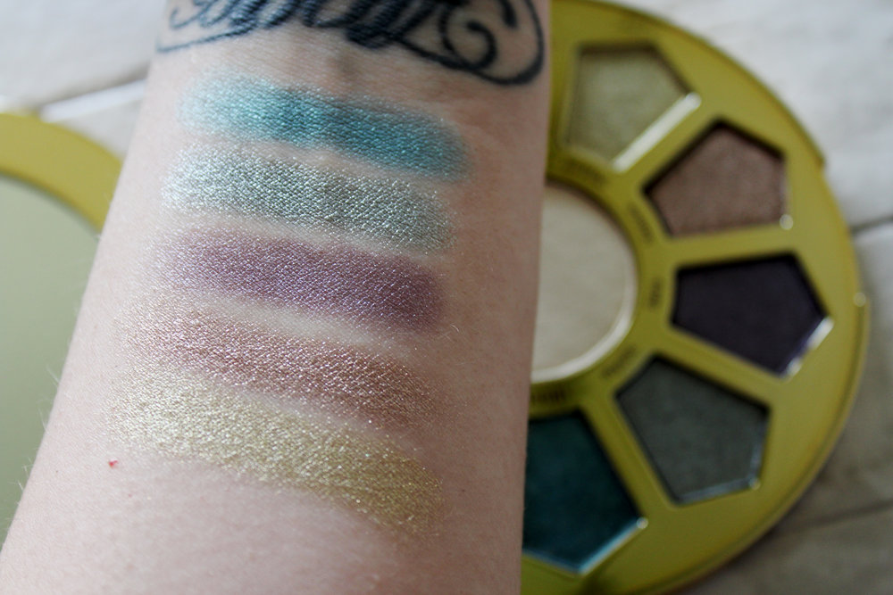 Top to bottom: Dream, Mystic, Fairy, Trance, and Marvel