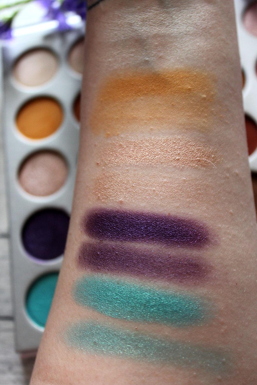 Morphe x Jaclyn Hill Eyeshadow Palette Review 3