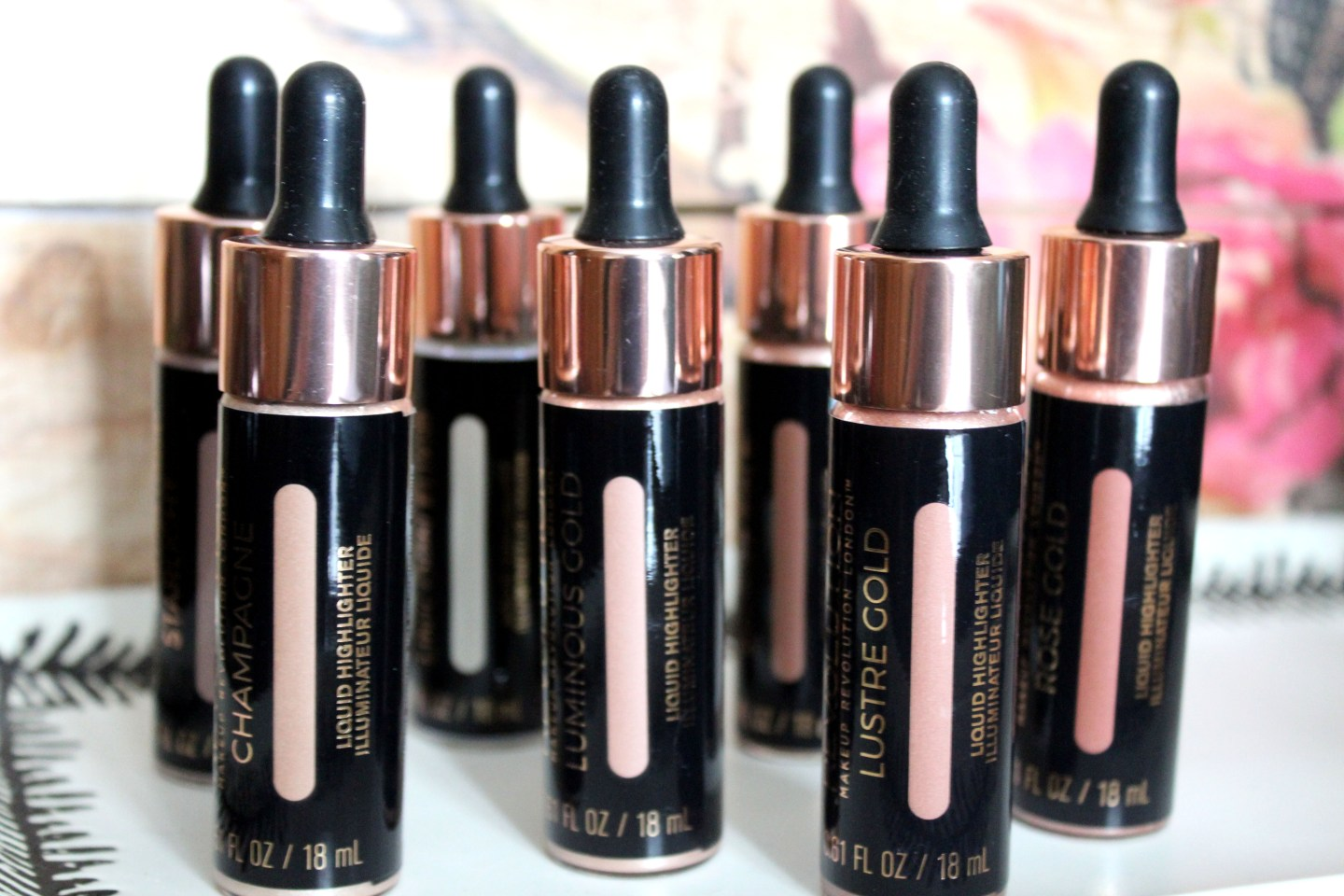 Makeup Revolution Liquid Highlighters