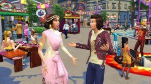 Sims 4 City Living 1