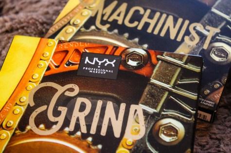 NYX Machinist Grind Palette 2