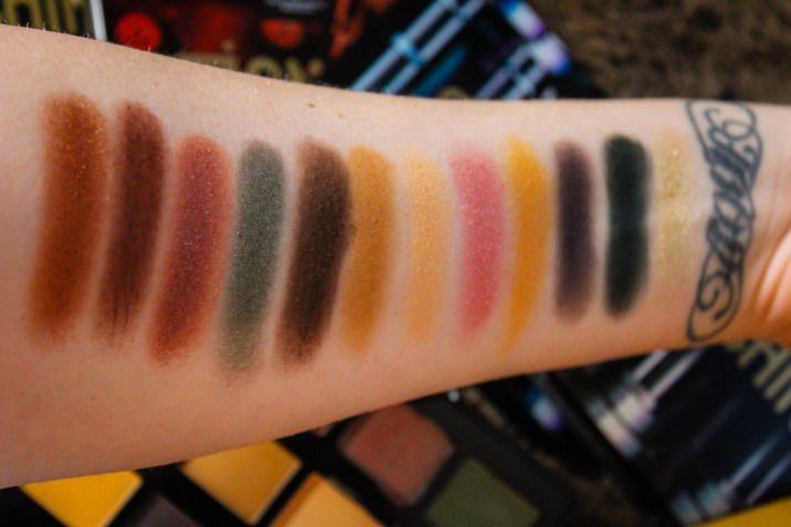 NYX Machinist Grind Swatches