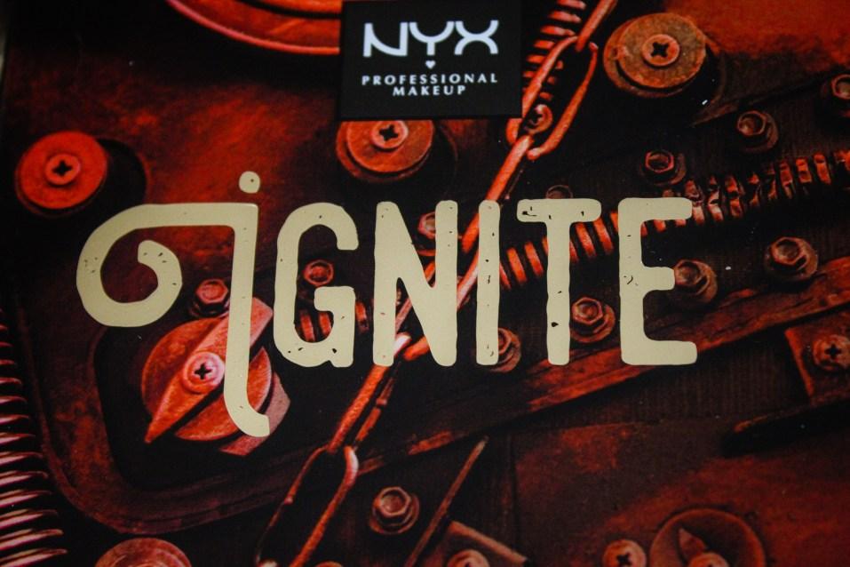 NYX Machinist Ignite Palette 1