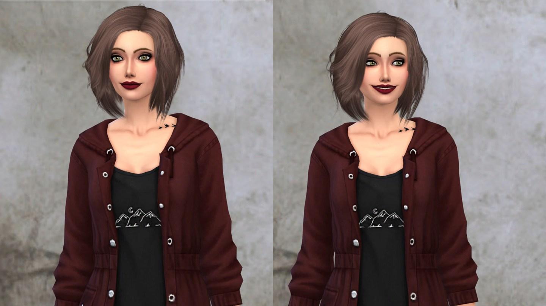 Sims 4 Alpha CC Mae Polzine