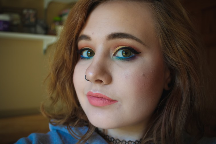 Storybook Cosmetics Charlie and Chocolate Palette Look 1